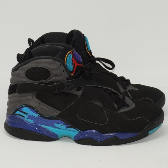 huge discount 82b96 84b48 MENS NIKE AIR JORDAN RETRO 8 BASKETBALL SHOES. M 5cba2d72969d1f5667fc9c6e